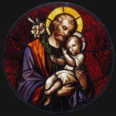 St Joseph and Jesus Catholic Daily, Catholic Art, Catholic Saints, Patron Saints, Religious Art, Catholic Children, Roman Catholic, Feast Of St Joseph, Catholic Prayers