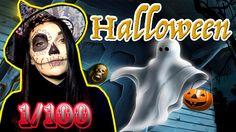 ПОХУДЕТЬ ЗА 100 ДНЕЙ !Макияж на Halloween, куда пойти? ( 1 день видео-эк...
