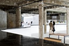 Lisbon Design and Fashion Museum / Ricardo Carvalho + Joana Vilhena Arquitectos Education Architecture, Interior Architecture, Interior Design, Adaptive Reuse, Club Design, Commercial Design, Old And New, Portugal, Culture Club
