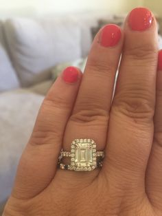 Emerald Cut Ladies, Let's See Your Sparkle! (Show off your rings!) - Weddingbee | Page 14