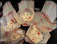 White Chocolate Popcorn with M&M's - Beneath My Heart
