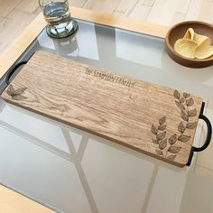 Personalised Wooden Cheese Serving Board by Urban Twist, the perfect gift for Explore more unique gifts in our curated marketplace. Wooden Owl, Wooden Elephant, Lion Design, Bee Design, Unique Centerpieces, Stag Head, Elephant Design, Serving Board, Old Wood