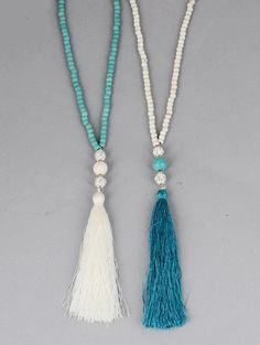 Handmade item. Natural Stone Long Tassel Necklace. All yoga jewelry is made with mindful meditation, and a devotional, compassionate energy.Malas are used during meditation for keeping count while reciting, chanting, or mentally repeating a mantra. You can also wear or carry with you your Mala necklace to help you on your spiritual journey and as a reminder to live in the moment. Diamond Choker Necklace, Diamond Cross Necklaces, Moon Necklace, Dainty Necklace, Simple Necklace, Diamond Pendant, Tassel Necklace, Diamond Earrings, Beaded Necklaces