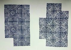 #estampado #sellos y #tinta #hechoamano #grabado