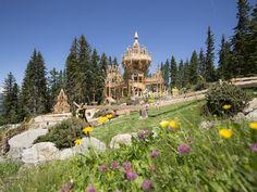 Fichtenschloss Magic Realms, Spruce Tree, Austria Travel, Rv Travel, Taj Mahal, Activities For Kids, Dolores Park, To Go, Mayrhofen