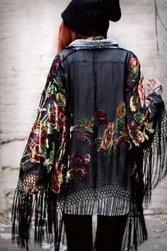 """I love hard rock boho. I live for the laid back look that also gives the """"I fucked my teacher"""" vibe. So badass"""