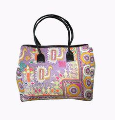 Indian Vintage banjara bag boho gypsy hippie tote mirror work Messenger Tote Bag #Handmade #BeachBagEveningBagShoulderBag Indian Textiles, Boho Bags, Mirror Work, Boho Gypsy, Evening Bags, Sling Bags, Shoulder Bag, Tote Bag, Embroidery