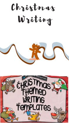Christmas Writing Templates with stimulus pictures Christmas Writing, Complex Sentences, Explanation Text, Data Collection, Story Template, Punctuation, Night Club, Letters, Templates