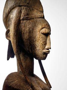 Statues, Paris 3, African Art, Pierrette, Buddha, Henri, 1975, France, Collection