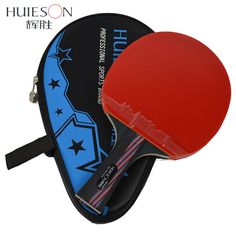 Huieson Carbon Fiber Table Tennis Racket Blade Double Face Pimples-in Racket Rubber Table Tennis Bat with Bag Top Recommended #Affiliate