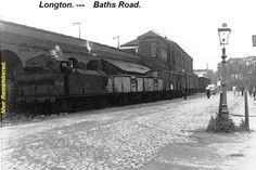 Baths road Old Pictures, Old Photos, Great Memories, Childhood Memories, British Rail, Stoke On Trent, Local History, Newcastle, Old Town