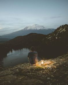 """takemecamping: """"Sometimes you just need to get outside and spend a little time with mother nature. Photo credit: @_ethanporter_ Find more at https://takemecamping.org """""""