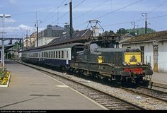 BB 12033 SNCF BB 12000 at Longwy, France by Fabrice Lanoue