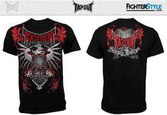 TapouT Black Bird Shirt - Black at http://www.fighterstyle.com/tapout-shirt-black-bird/