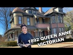 House Tour: 1892 Queen Anne Victorian Mansion FOR SALE - YouTube Mansions For Sale, Queen Anne, House Tours, Victorian Architecture, Abandoned, The Incredibles, Landscape, House Styles, Mothers