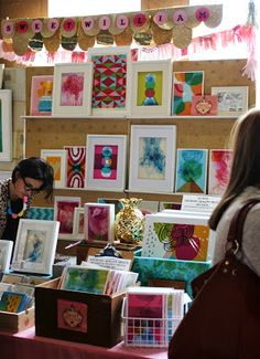sweet william: Shots of Sweet William stall set up at Finder Keepers Melbourne