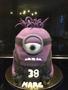 #Cake #Minions Purple