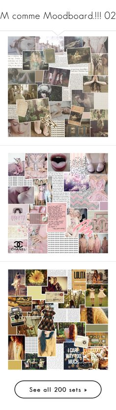 """M comme Moodboard.!!! 02"" by vicky-soleil ❤ liked on Polyvore featuring art, Shabby Chic, Essie, Hai, Reverie, Samsung, Urban Decay, Yves Saint Laurent, Oris and Misch Masch"