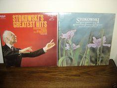 STOKOWSKI RECORD LOT GREATEST HITS   BOTH RECORDS NM