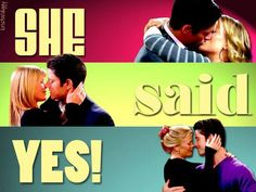 Days EJ and Sami. EJ poped the Question and as the old Chad Brock song goes She said Yes.