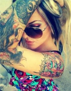 Girl swag Ink tattoos and Tattoo girls on Pinterest