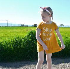 the Skip to my Lou dress size 2-4 от CauliflowerKids на Etsy