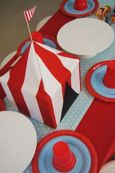Sweet Little Parties: {now available} vintage circus party hire package