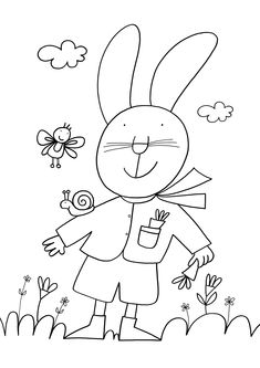 Giulio Coniglio Art For Kids, Crafts For Kids, Arts And Crafts, Best Wordpress Themes, Primary School, Rock Art, Coloring Pages, Art Projects, Applique