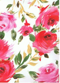 Design for fabric by Kate Cooke
