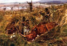 Hunting the hairy rhinoceros, 1958