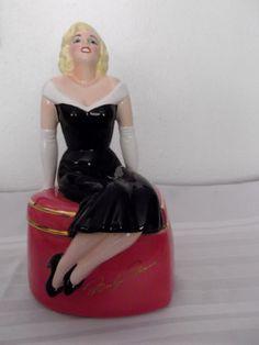 Marilyn Monroe Cookie Jar by Clay Art