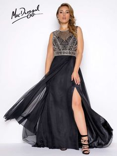 d7513293631 Fabulouss by Mac Duggal Plus Size Prom Homecoming Formal Dress