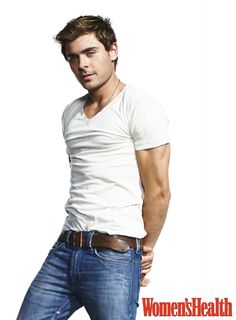 Zac Efron heats up Womens Health magazine