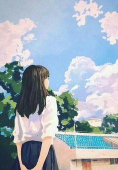 59 Ideas For Art Drawings Girl Korean Aesthetic Art, Aesthetic Anime, Cover Wattpad, Anime Scenery Wallpaper, Cartoon Art Styles, Korean Art, Anime Art Girl, Cute Drawings, Cute Art