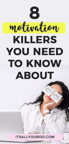 Can't get your energy up and feeling unmotivated? Wish you could focus and get things done? Let's talk about it! Click here for 8 motivation killers you need to know about + exactly how to fix them and get motivated. #Motivation #Inspiration #Motivated #GetMotivated #MotivationTips #DailyMotivation #Motivate #GetMoving #SelfImprovement #GoalDigger #Success #Productivity #PersonalDevelopment #GrowthMindset #SelfHelp #Energy #AchieveYourGoals #PersonalGrowth #SelfDevelopment #Millennial Good Motivation, Motivation Inspiration, Feeling Lazy, How Are You Feeling, Self Development, Personal Development, How To Get Motivated, Stress Less, Do Homework