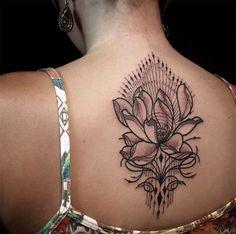 Tattoo You Pedro Floral Tattoo Design, Tattoo Designs, Tattoo Ideas, Floral Tattoos, Tattoo You, Back Tattoo, Doodle, Sexy Tattoos For Women, Ornamental Tattoo