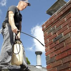 Cracks and spalling in a brick chimney can get worse fast, but the fix is easy if you do it in time. Two pros share maintenance tips that will keep your chi
