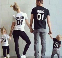 Family look T-shirt in cottone € 7,47 ali.pub/9qv3k #familylook #tshirtfamilylook