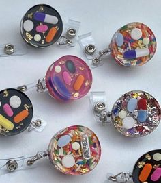 Diy Epoxy, Diy Resin Art, Agate Coasters, Id Badge Reels, Resin Charms, Id Badge Holders, Engagement Gifts, Resin Jewelry, Pharmacy
