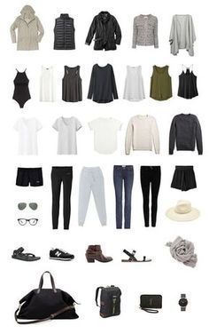 travel style How to pack light for 2 to 3 weeks in Europe using a single carry on! A tried-and-true capsule wardrobe packing system, a few travel tips, and a handy printable packing list. Packing For Europe, Packing Tips For Travel, Camping Packing, Travel Europe, Weekend Packing, Vacation Packing, Paris Packing, Backpacking Europe, Travel Destinations