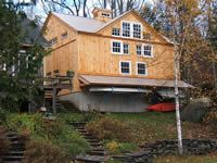 Geobarns - specializing in elegant and artistic barns using a modified post and…
