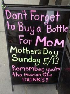 What moms REALLY want for Mother's Day from their kids. LMAO