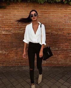 35 Stylish Streetwear Outfits For Women To Look Gorgeously Fashionable - Page 3 of 3 - Style O Check Mode Outfits, Casual Outfits, Fashion Outfits, Womens Fashion, Fashion Trends, Luxury Fashion, Fashionable Outfits, Latest Fashion, Office Outfits