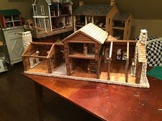 A place to share ideas and thoughts about miniatures, scale models, architecture and display my collections of Tynietoy, Strombecker, Tootsietoy, Halls, Kage, Kilgore &; Arcade cast iron, and a few other antique miniature finds and projects.