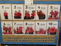 Recording in display what the children say about their work or what they think about what they have been doing along with their photograph can be a great way of getting them to engage with the print that is on the walls