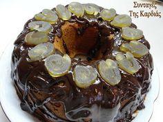 Κέικ με γλυκό περγαμόντο -  Cake with sweet spoon bergamot