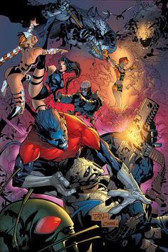 Cover art - textless for Uncanny X-Men #471