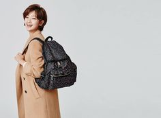 Park So Dam, Leather Backpack, Icons, Fashion, Moda, Leather Backpacks, Fashion Styles, Symbols, Fashion Illustrations