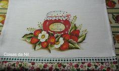 Coisas da Nil - Pintura em tecido: Frutas a vontade.