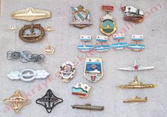 Submarine badges for trade